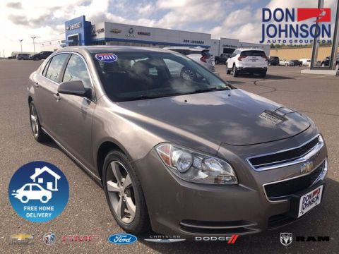 Pre-Owned 2011 Chevrolet Malibu 1LT FWD Sedan